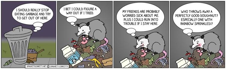 stuck opossum 2