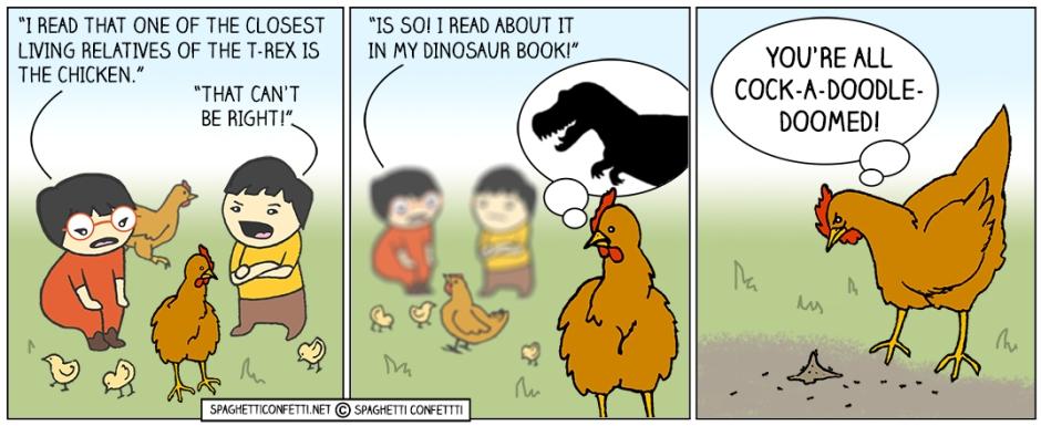 t-rex chicken
