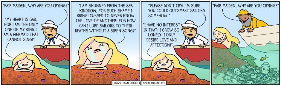 mermaid can't sing