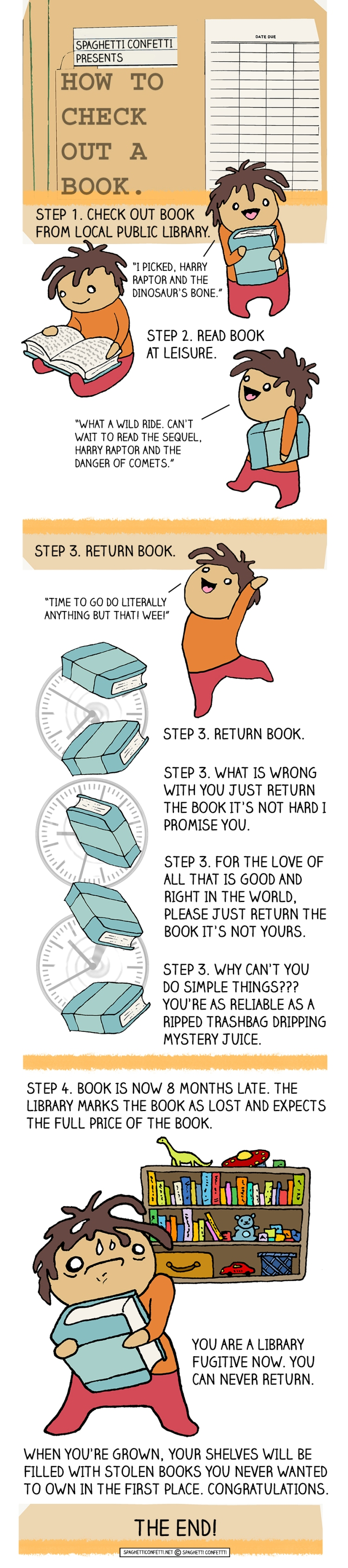 how to check out a book_110