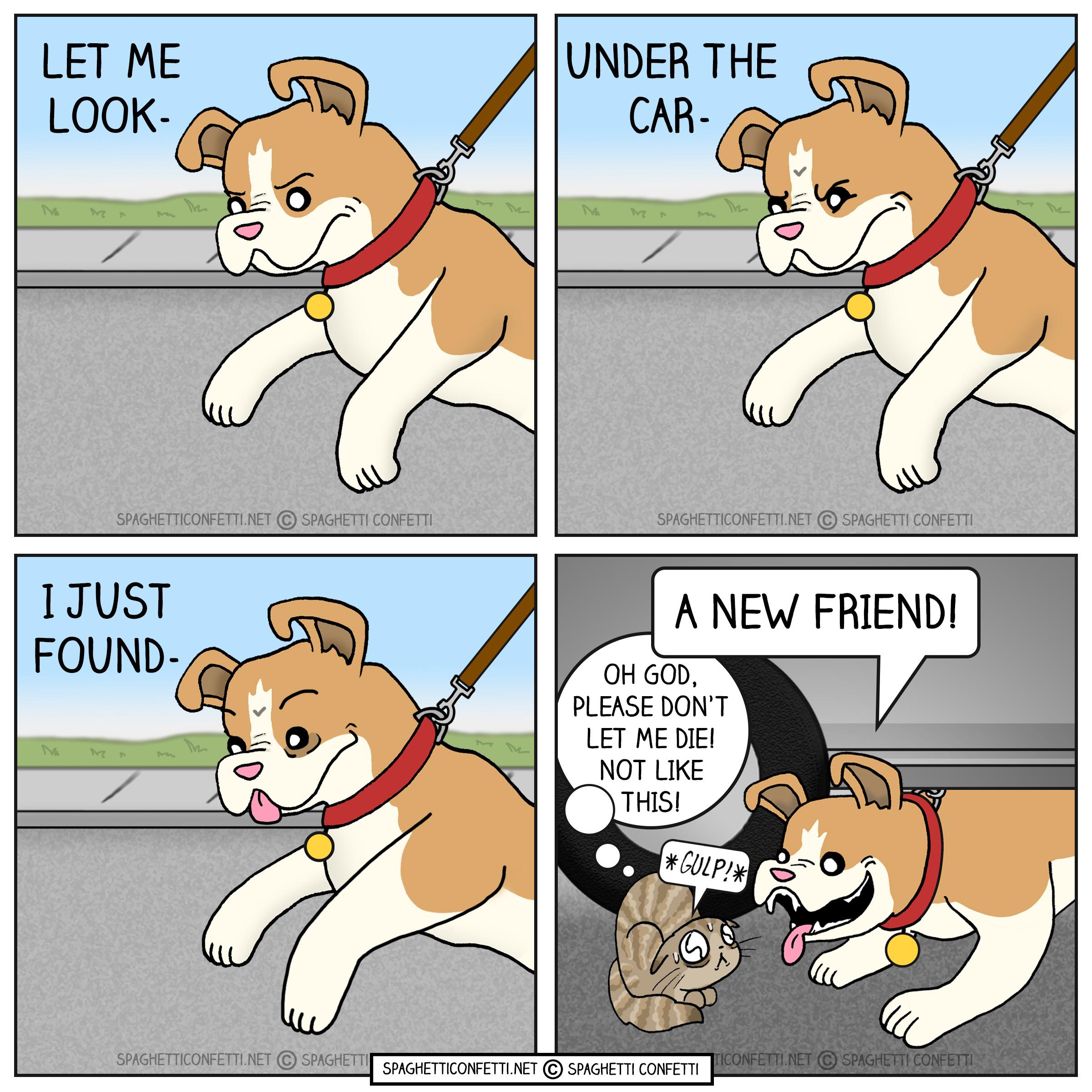 New Friend Comic 2020