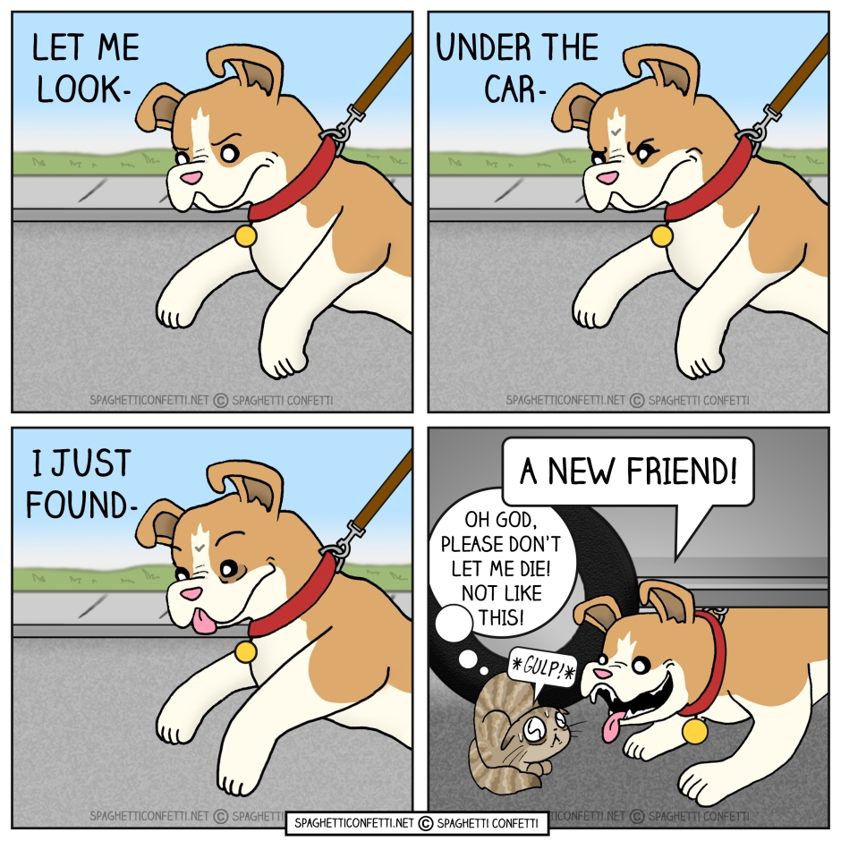 New Friend Comic 2020