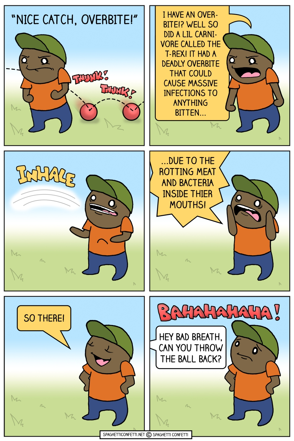 Overbite Comic