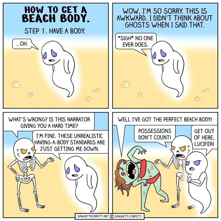 Beach Body Spook