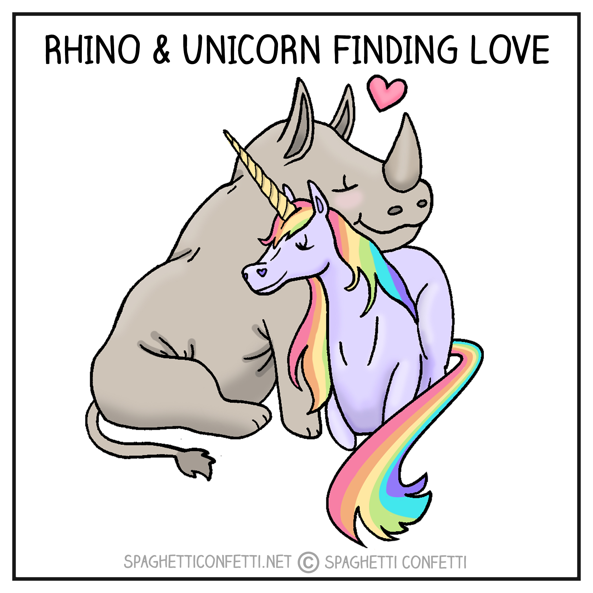 Rhino and Unicorn 72